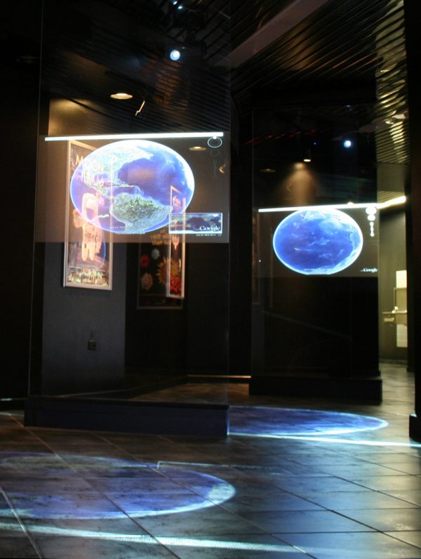 Clear Rear Projection Film